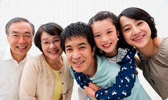 家族で通える予防歯科