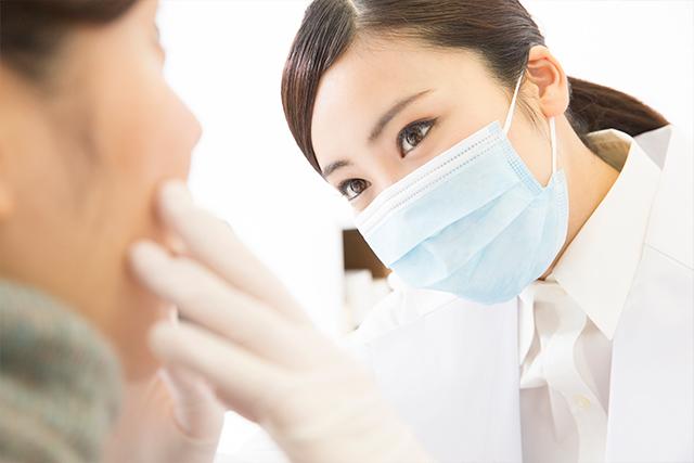5 患者様の口腔内への装着